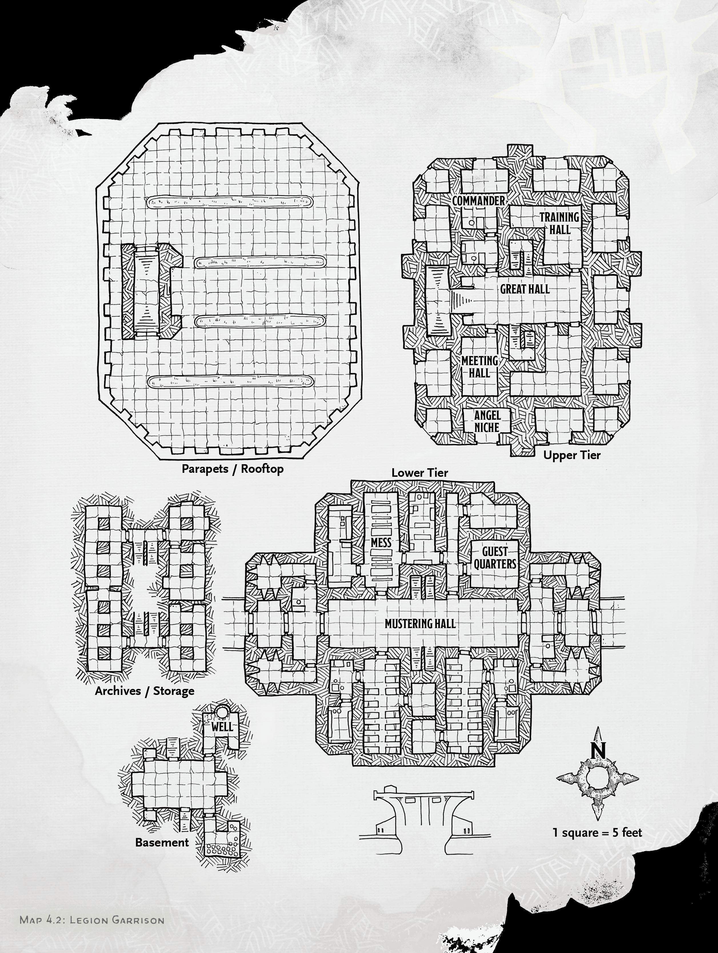legion garrison map