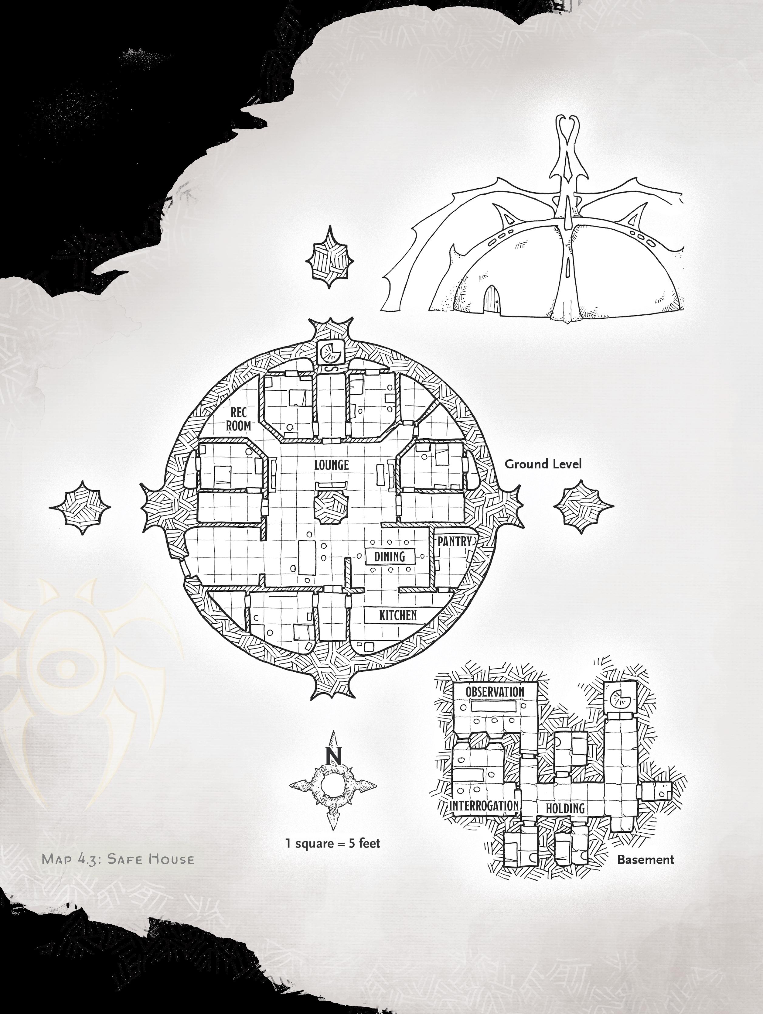 safe house map