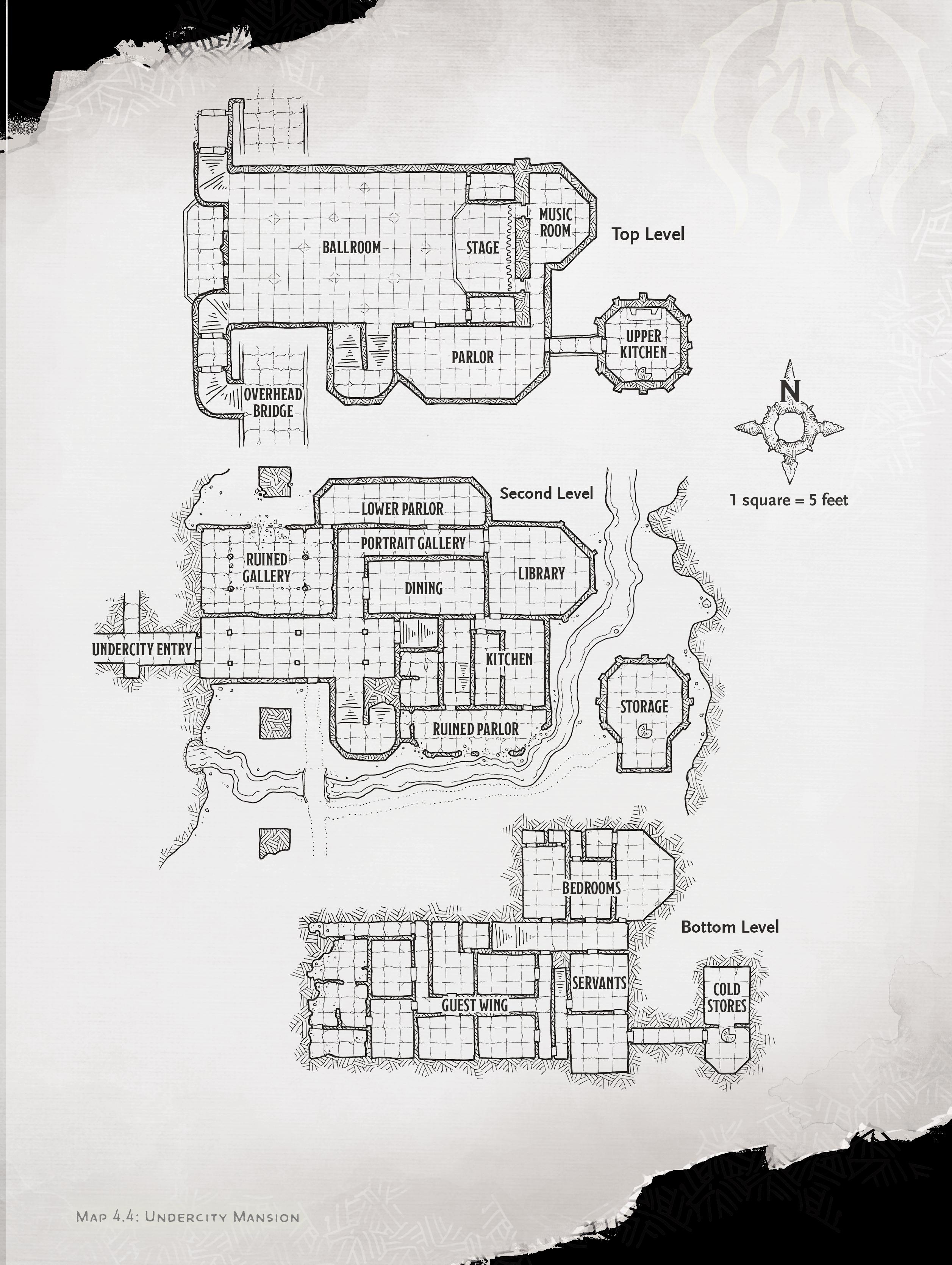 undercity mansion map