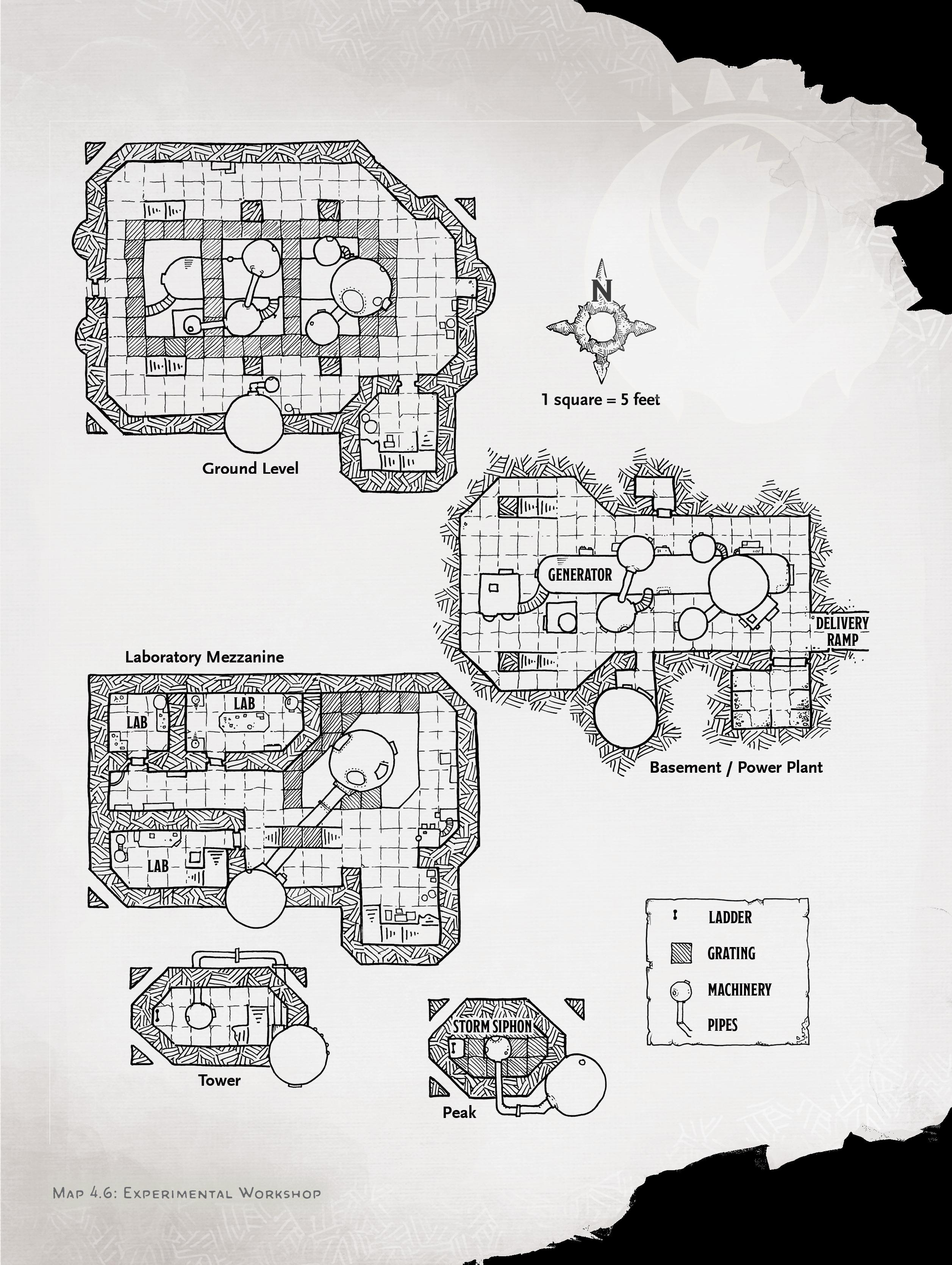 experimental workshop map