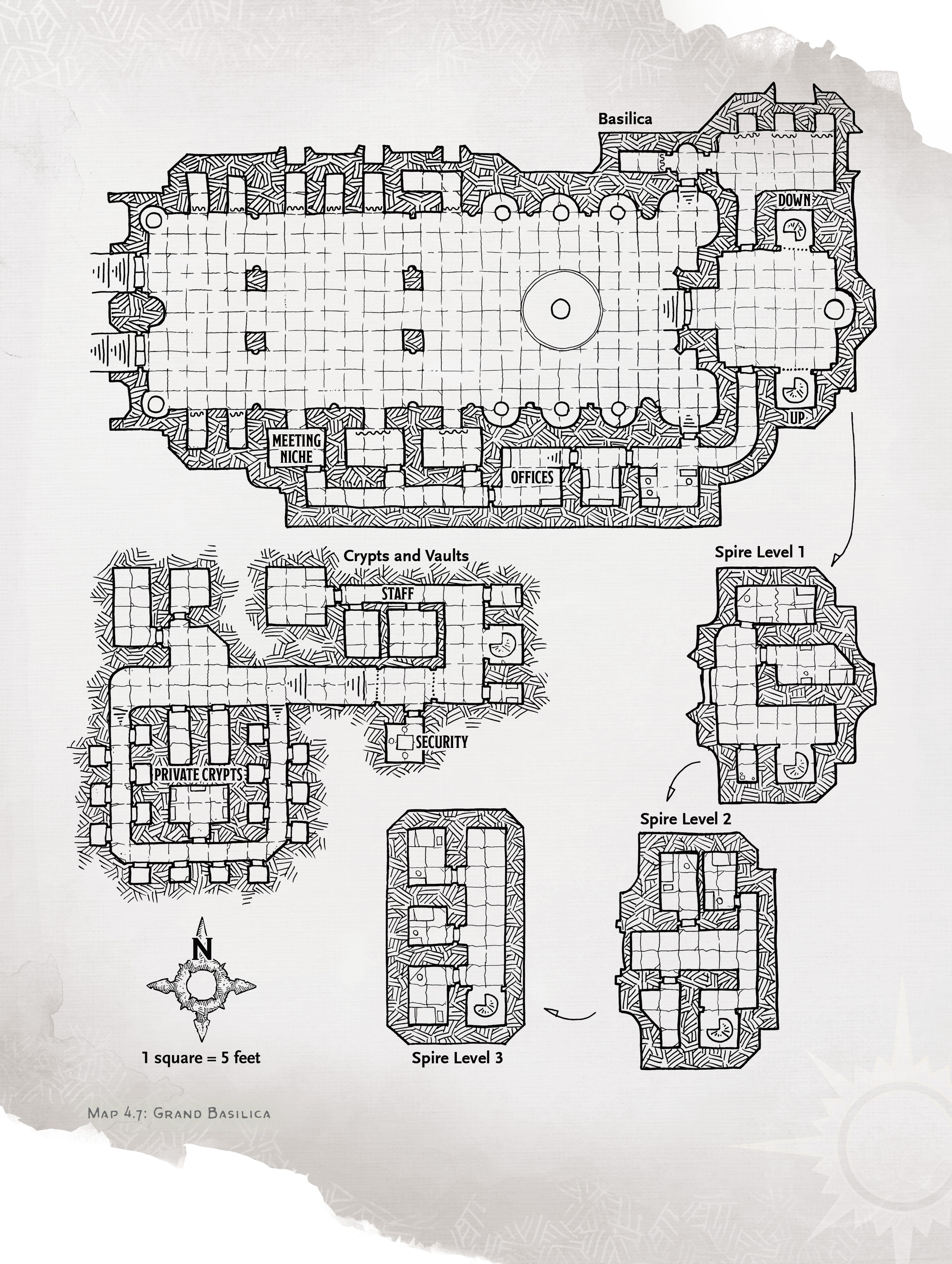 grand basilica map